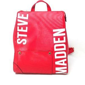 STEVE MADDEN  Red BHart Backpack